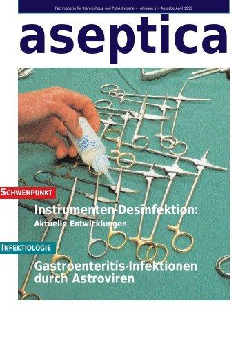Ausgabe 1/1999 - Aseptica.com