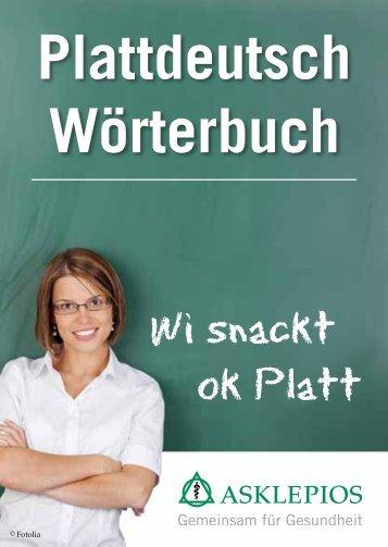 Plattdeutsch Wörterbuch - Asklepios