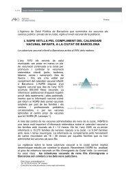 Document en format pdf. 215Kb. - Agència de Salut Pública de ...
