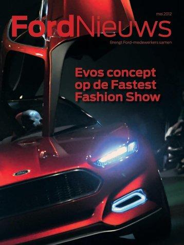 Evos concept op de Fastest Fashion Show