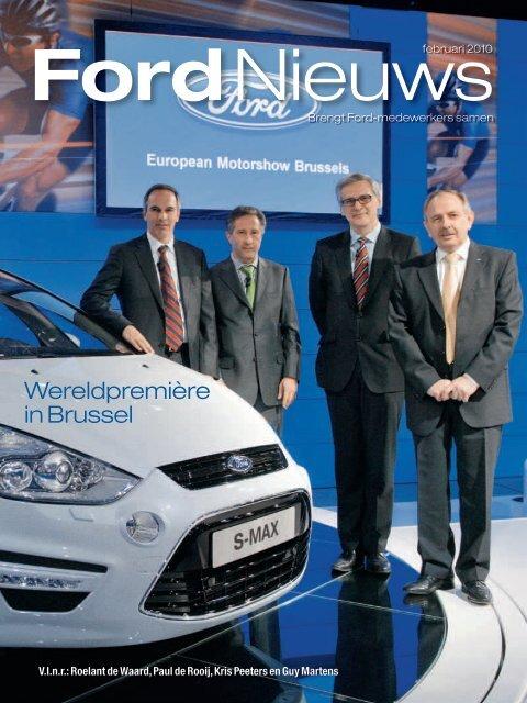 Wereldpremière in Brussel - Ford
