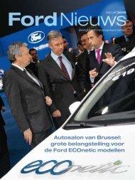 Autosalon van Brussel: grote belangstelling voor de Ford ECOnetic ...