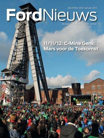 11/11/12: C-Mine Genk: Mars voor de Toekomst - Ford