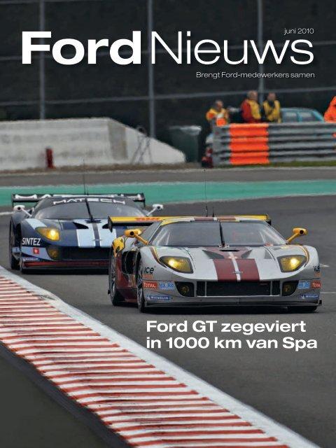 Ford GT zegeviert in 1000 km van Spa