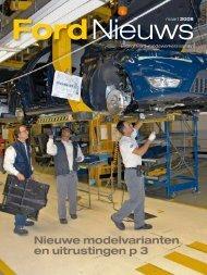 Nieuwe modelvarianten en uitrustingen p - Ford