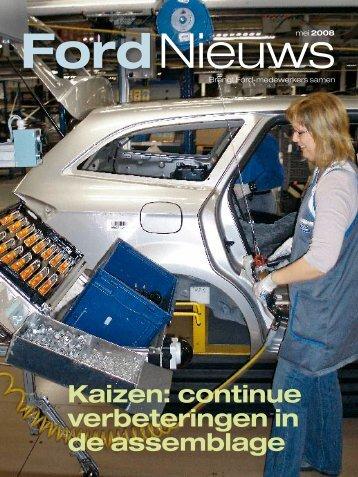 Kaizen: continue verbeteringen in de assemblage