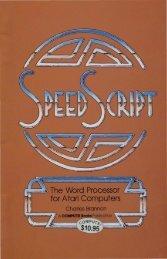 '.~ The Word Processor ~==::;;r,;; M' : for Atari Computers - Atarimania