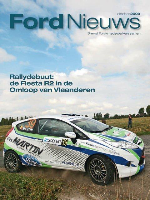 Rallydebuut: de Fiesta R2 in de Omloop van Vlaanderen