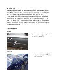 Inleverschade - Athlon Car Lease