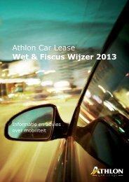 Athlon Car Lease Wet & Fiscus Wijzer 2013