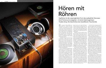 Kopfhören ist die ursprünglichste Form des ... - Audio-Classica