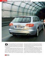 Audi A6 AvAnt 3.0 tFSi QuAttro und BMW 530i touring doppelteSt
