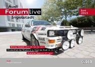Forum live - Audi