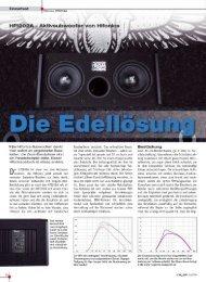 Test in Car & Hifi 5/2010 · Note 1,3 - Audio Design GmbH