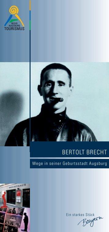 Berthold Brecht - Augsburg Tourismus