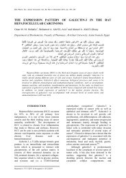 THE EXPRESSION PATTERN OF GALECTIN-3 ... - Assiut University