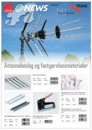 Antennebeslag og fastgørelsesmaterialer - Aurora Group Danmark A/S