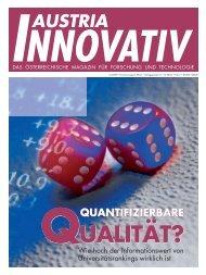 Kunden PDF von Repromedia Wien - Austria Innovativ
