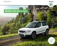ŠKODA Yeti Adventure - im Škoda Autohaus Rüdiger GmbH