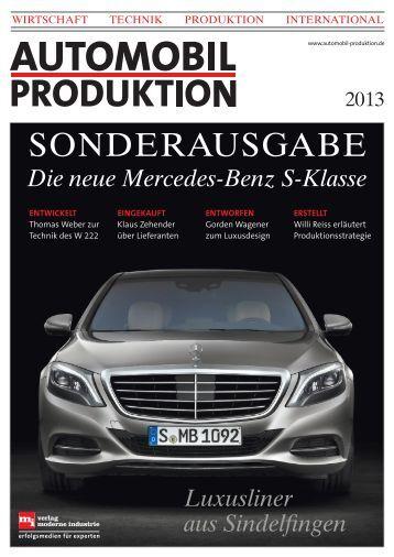 Leseprobe der Sonderausgabe - Automobil Produktion