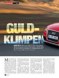 fär vad Audi RS 3 handlar - Auto Motor & Sport