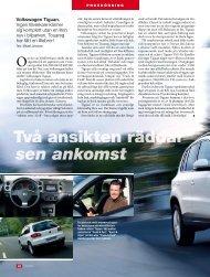 Volkswagen Tiguan. Ingen tillverkare känner sig komplett utan en ...