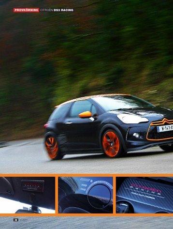 Läs provkörningen med Citroën DS3 Racing THP 205! - Auto Motor ...