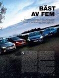 TEST DE BÄSTA I KOMPAKTKLASSEN - Auto Motor & Sport - Page 2