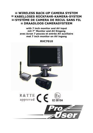 RVC7010 Manual EN DE FR NL on Sep 6 - ATI Autoteile Immler