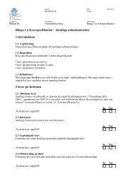 Bilaga 1 a Kravspecifikation – Samtliga anbudsområden ... - Avropa.se