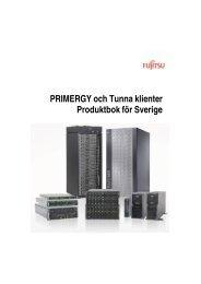 PB PRIMERGY utan priser 2010-06 - Avropa.se