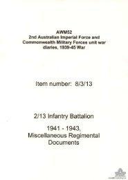 AWM52, 8/3/13/19 - Australian War Memorial