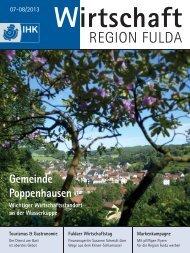 IHK Magazin Fulda 07-08/2013 - B4B MITTELHESSEN