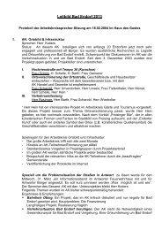 Arbeitskreisgruppensprecher Sitzung, 18.02.2004 - Bad Endorf