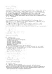 Beschlossen am 25.04.1998 1. Ziele und Aufgaben Ziele und ...