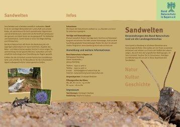 Veranstaltungsflyer - Bund Naturschutz in Bayern eV
