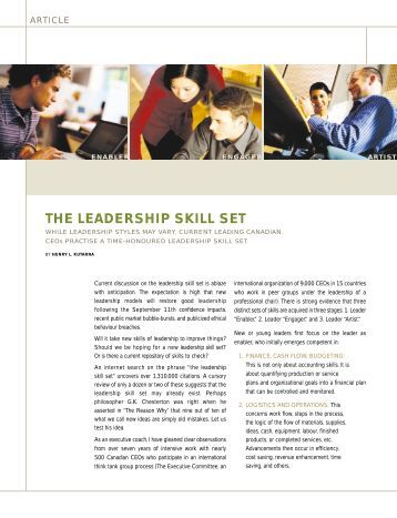 essay on leadership for students