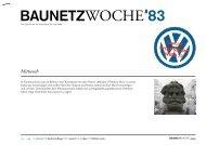 BAUNETZWOCHE#83
