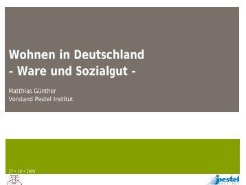 Wohnen in Deutschland - Baustoffmarkt Online