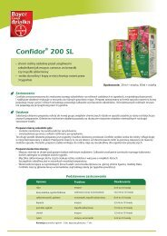 Confidor 200 SL - Bayer CropScience