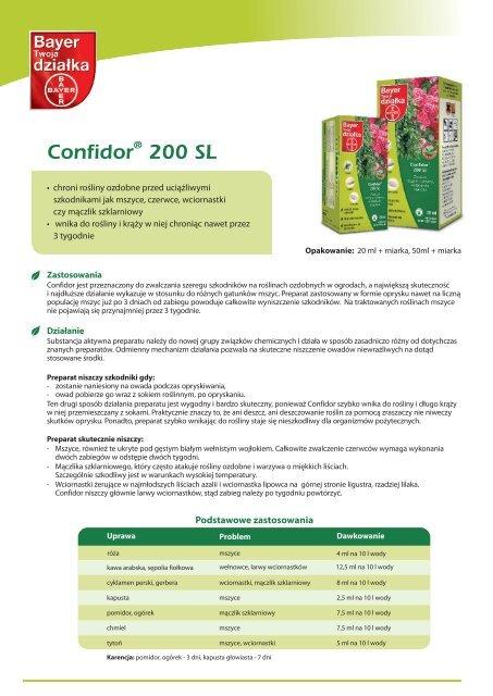 Confidor 200 SL - Bayer CropScience