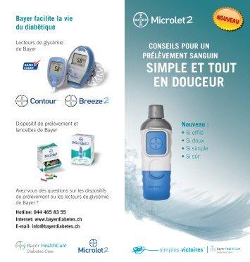 sImplE Et tout EN douCEur - Bayer Diabetes Care Schweiz