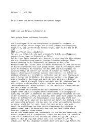 Dänikon, 19. Juni 2004 An alle Damen und Herren ... - Bbaktuell