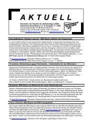 Newsletter »Aktuell« Ausgabe 11 / 2008 von November 2008