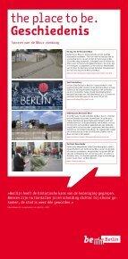 Berlijn wordt als geen andere stad gekenmerkt door een ... - be Berlin - Page 6