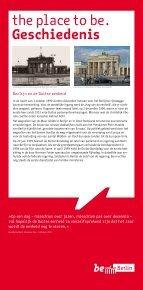 Berlijn wordt als geen andere stad gekenmerkt door een ... - be Berlin - Page 7