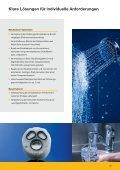 Spezialschmierstoffe für die Armaturenindustrie - Carl Bechem GmbH - Seite 7