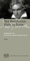 Het Beethoven- Huis in Bonn - Beethoven-Haus Bonn