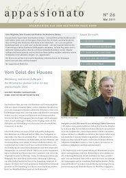appassionato - Beethoven-Haus Bonn