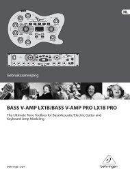 BASS V-AMP PRO - Behringer